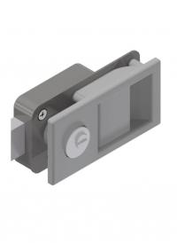 Möbelschlösser Aluminium-Edelstahl