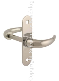Handles and plates brass for small rim locks / rim latches yacht catalog