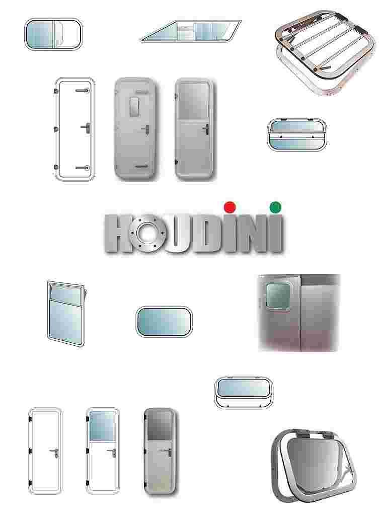 Houdini - Fenster | Luken | Türen